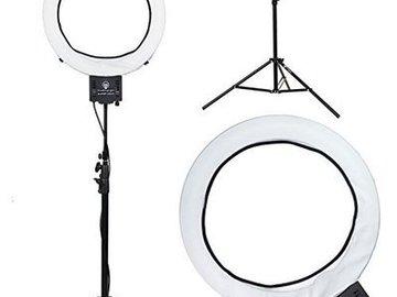 "Rent:  Diva Ring Light Super Nova 18"" Dimmable Photo"