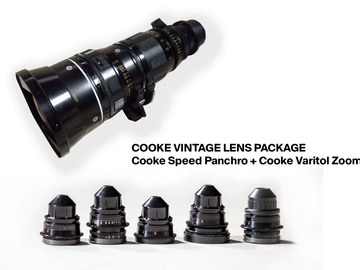 Cooke Speed Panchro Prime  &  Cooke  Varotal Zoom