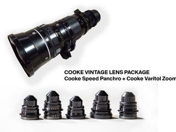 Cooke Speed Panchro Prime  &  Cooke  Varotal Zoom