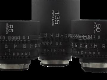Rent: G.L. Optics ZEISS CONTAX PL Mount Prime 5 Lens Set