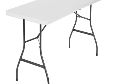 Rent: 6-Foot Center Fold Table