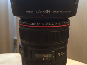 Rent: Canon 24-105mm f/4 IS w/ seamless focus gear