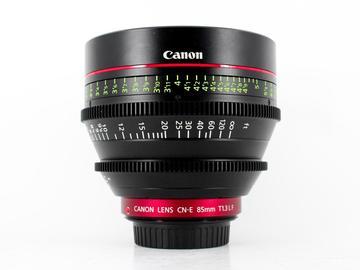 Rent: Canon CN-E 85mm T1.3 L F, Canon EF Fit