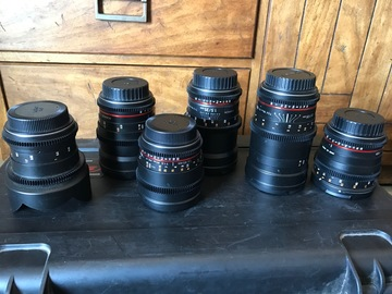 Rokinon Cine DS Lens Set