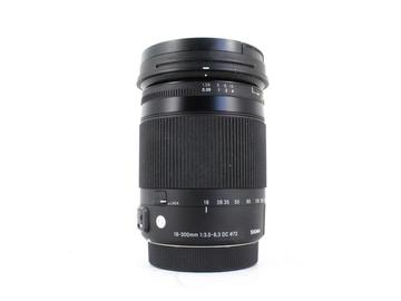 Rent: Sigma 18-300mm f/3.5-6.3 DC OS HSM Macro C, Canon EF-S Fit