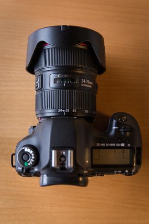 Canon EOS 5D Mark III w/ 24-70mm Canon Lens Kit