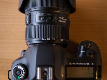 Rent: Canon EOS 5D Mark III w/ 24-70mm Canon Lens Kit