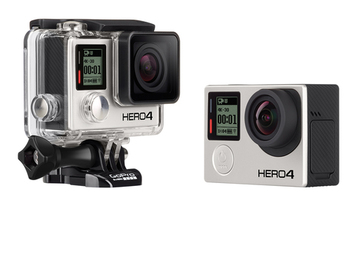 Rent: GoPro Hero 4 camera with 4K shooting