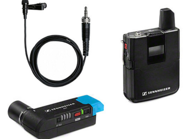Rent: Sennheiser AVX Camera-Mountable Lavalier