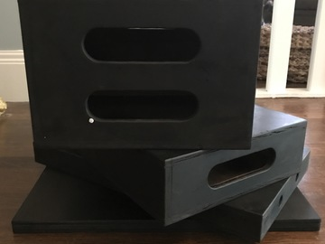 Rent: Apple Box Set of 4 (Black)