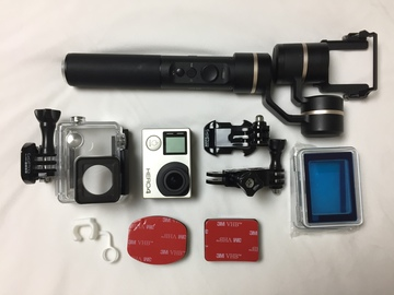 Rent: GoPro HERO4 Black + G5 Handheld Gimbal Stabilizer