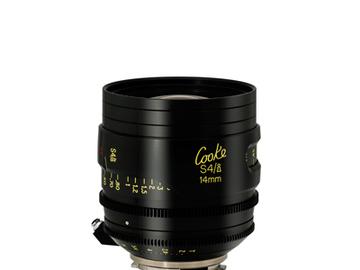 Rent: 14mm Cooke S4 T2.0 (110mm-D)