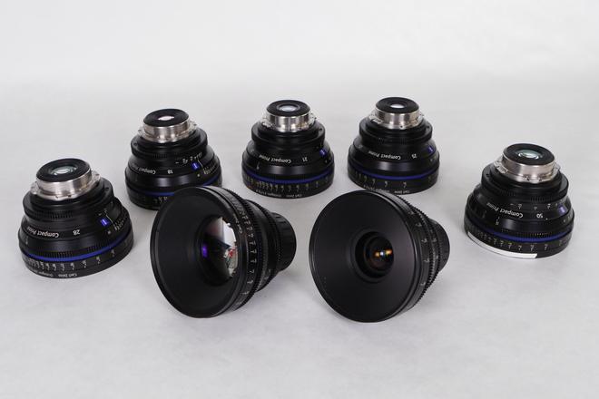 Zeiss  Compact Prime CP Lens Set (3 Lenses)