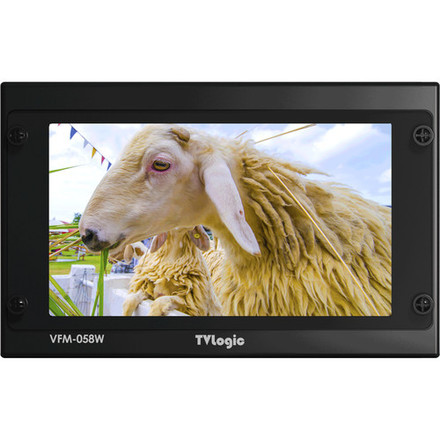 "TVLogic VFM-058W 5.5"" Full HD On-Camera Monitor"