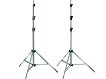 Rent: 2x Manfrotto 3336 Light Stand (11 ft)