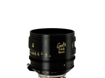 Rent: 18mm Cooke S4/i T2.0 (110mm-D)