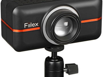 Rent: Fiilex P100 On-Camera LED Video Light w/ Accessory Kit