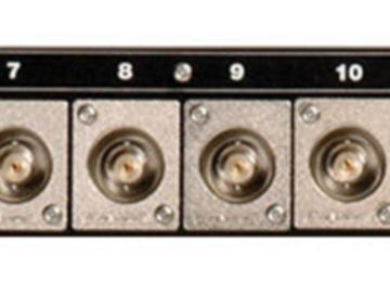Rent: Canare 161U-BJRU AV Bulkhead Panel with (16) BNC-BNC Connect