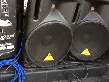 Rent:  Powered Speaker x 2