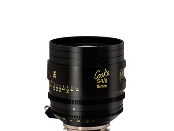 Rent: 16mm Cooke S4 T2.0 (110mm-D)/Uncoated