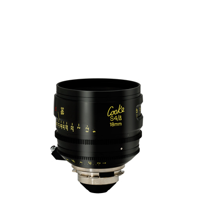 18mm Cooke S4/i T2.0 (110mm-D)/Uncoated