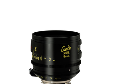 Rent: 18mm Cooke S4/i T2.0 (110mm-D)/Uncoated