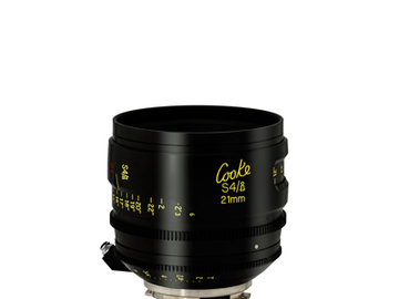 Rent: 21mm Cooke S4 T2.0 (110mm-D)/Uncoated