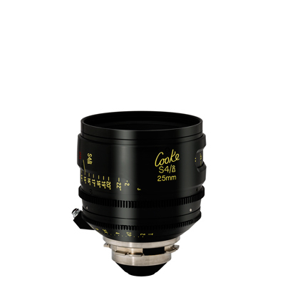 25mm Cooke S4 T2.0 (110mm-D)/Uncoated