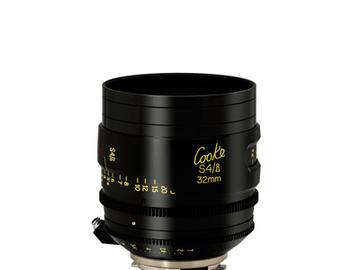 Rent: 32mm Cooke S4/i T2.0 (110mm-D)/Uncoated