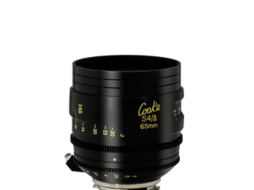 Rent: 65mm Cooke S4 T2.0 (110mm-D)/Uncoated