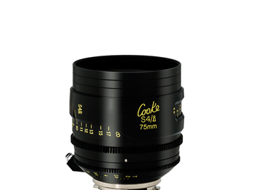 Rent: 75mm Cooke S4/i T2.0 (110mm-D)/Uncoated