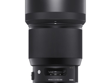 Rent: Sigma 85mm f/1.4 DG HSM Art Lens for Canon EF