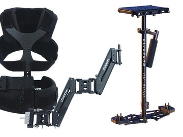 Rent: Glidecam HD4000 w/ Steadicam Merlin Arm & Vest