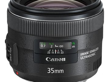 Rent: Canon EF 35mm f/2 IS USM
