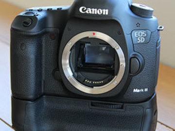 Rent: Canon 5D mk 3 w/ Battery Grip, 24-70 f/2.8L, intervalometer