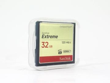 Rent: SanDisk Extreme 32GB 120MB/S UDMA7 CF Card
