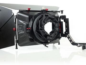 Rent: Carbon Fiber 2 Stage Swing-away 4x4 Mattebox