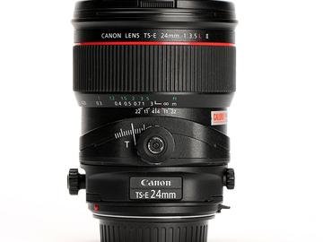 Rent: Canon 24mm tilt-shift lens
