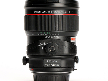 Rent: Canon 24mm tilt-shift lens II