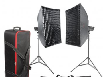 Rent: PIXAPRO LED100D MKII Daylight Balanced LED Twin Softbox Kit