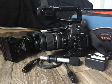 Rent: Canon C100 Complete Kit