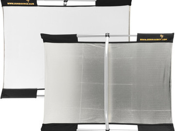 Rent:  Sunbounce Micro Mini Sun-Bounce Kit - Silver/White Screen (