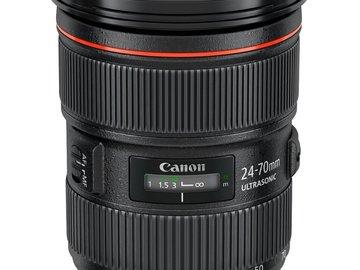 Rent: Canon 24-70 2.8L II USM Lens