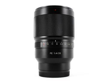 Rent: Sony FE 35mm f/1.4 T* Distagon ZA