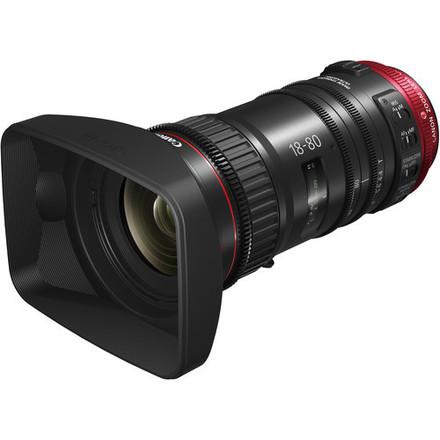 Canon CN-E 18-80mm T/4.4 plus Zoom Grip