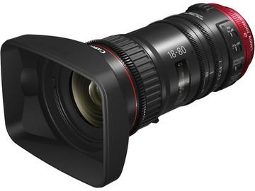 Rent: Canon CN-E 18-80mm T/4.4 plus Zoom Grip