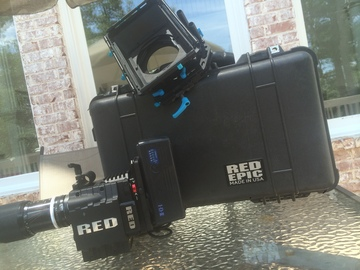 Rent: RED EPIC-X 5K full package with RED STUDIOS Trained Operator