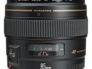 Rent: Canon EF 85mm f/1.8 USM