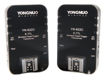 Rent: Yongnuo YN-622C Wireless Flash Trigger Transceiver Pair