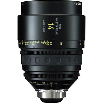 14mm Arri/Zeiss Master Prime T1.3 (114mm-D)
